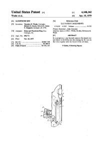 patent Low B flat mechanism