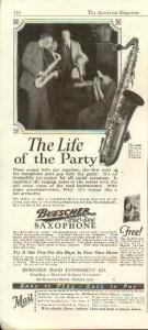 1925 Buescher ad